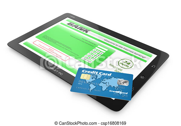 Internet banking service. - csp16808169