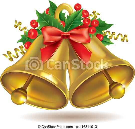 Christmas bells Illustrations and Clip Art. 22,384 Christmas bells ...