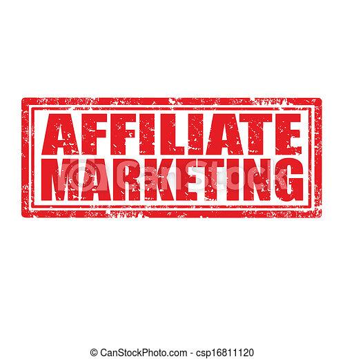 Vector Illustration of Affiliate Marketing-stamp - Grunge ...
