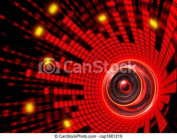 Abstract Speaker Sound - csp1681219