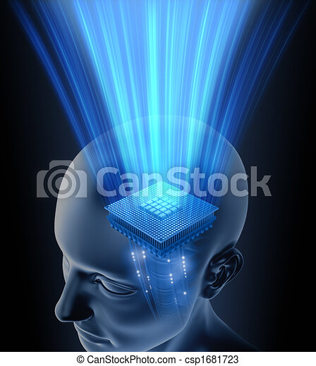 Head Brain Processor - csp1681723