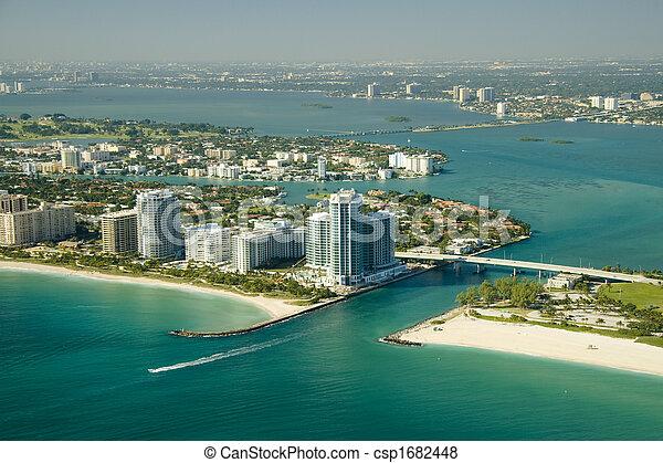 Miami Beach Seashore - csp1682448