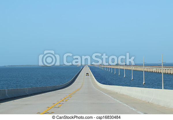 Floriday Keys Bridges Highway 1 - csp16830484