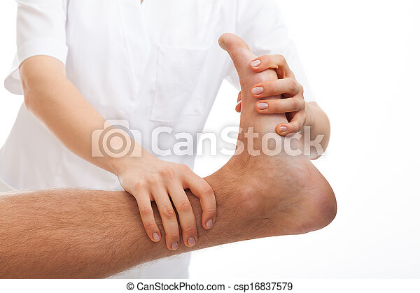 Foot rehabilitation - csp16837579
