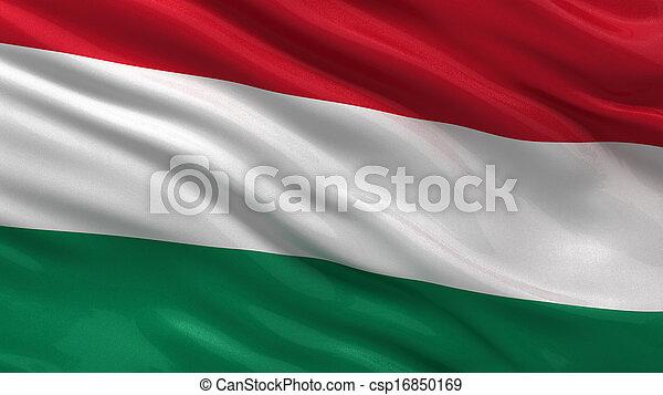 Flag of Hungary - csp16850169