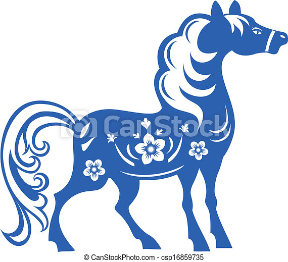 Horse Symbols Drawings Can-stock-photo_csp16859735.jpg