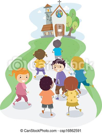 Church Kids - csp16862591