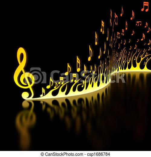 Fast Music - csp1686784