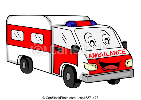 Ambulance Car Drawing Ambulance Car Csp16871477