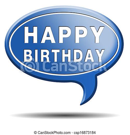 happy birthday - csp16873184