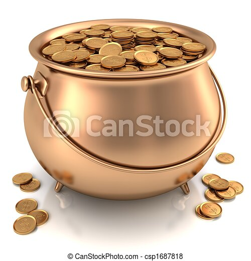 Pot of Gold - csp1687818