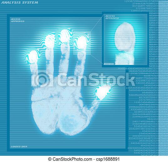 Fingerprint Analyze - csp1688891