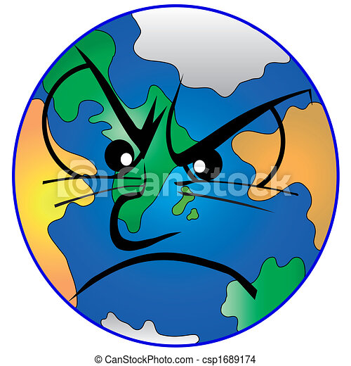 Eps vector of eart ist depressed our mother earth is depressed lossless csp1689174 - Mother earth clipart ...