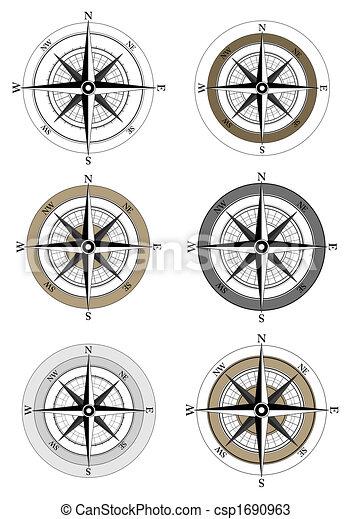 Compass Icons - csp1690963