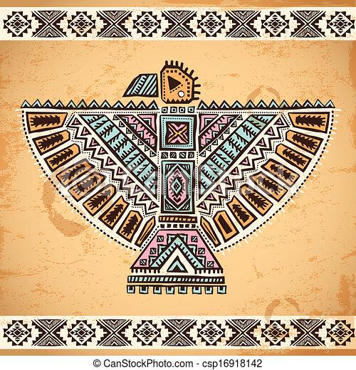 Vintage Eagle Clipart
