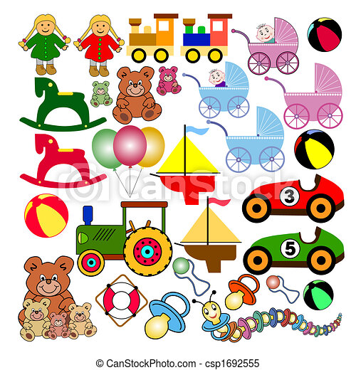collection of toys - csp1692555