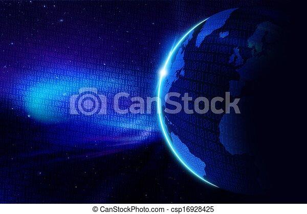 Digital World - csp16928425