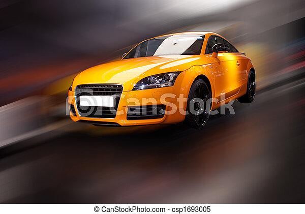 Auto, phantasie, sport - csp1693005