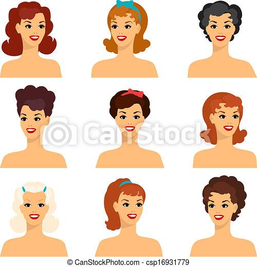 50s retro hairstyles
