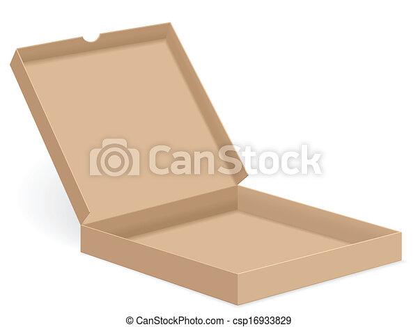 Empty Pizza Box Clipart | www.pixshark.com - Images ...