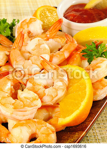 Chilled Shrimp Cocktail - csp1693616