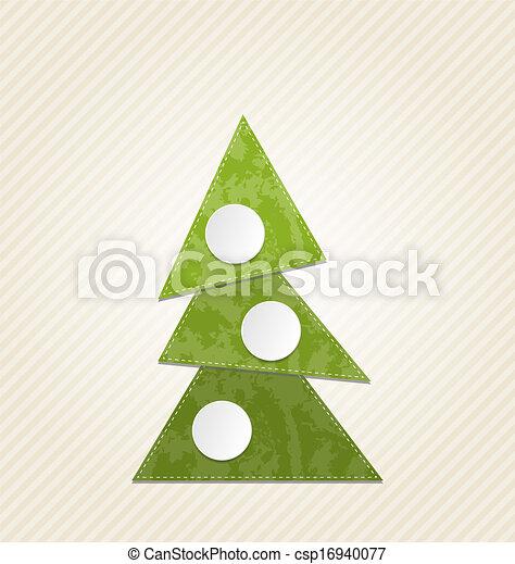 Vectors illustration of christmas abstract tree minimal for Minimal art vector
