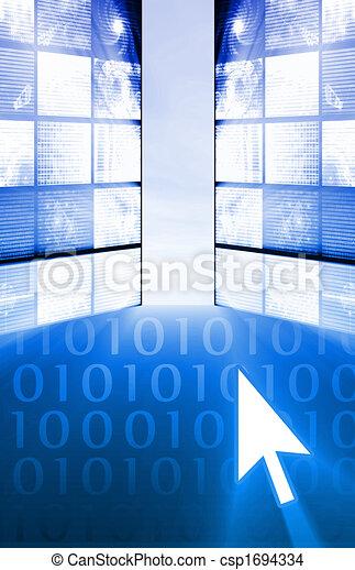 Exploring the Internet - csp1694334