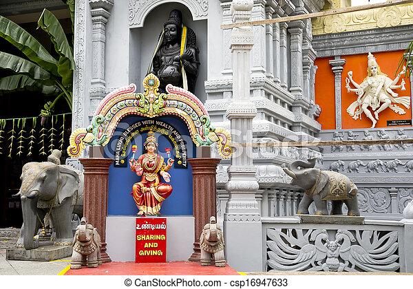 Hindu Religion Representatives - csp16947633