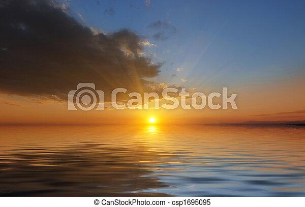 Sunset - csp1695095