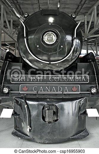 Steam Locomotive Hudson - csp16955903