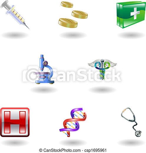 Shiny Medical Icons - csp1695961