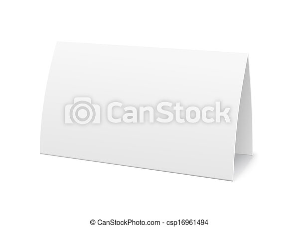eps vectors of paper table card sign template vector illustration csp16961494 search clip art. Black Bedroom Furniture Sets. Home Design Ideas