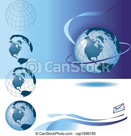 vector globes - csp1696180