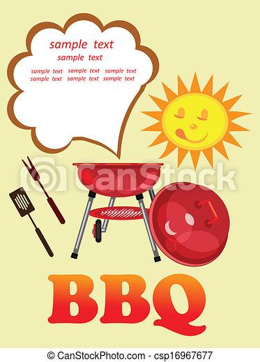 Vive la saison des barbecues!  RIGOLOTES