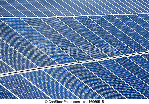 Solar plates for green sun energy - csp16969515