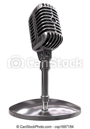 Classic Microphone - csp1697184