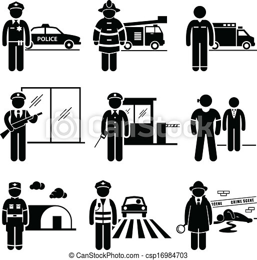 Public Safety and Security Jobs - csp16984703