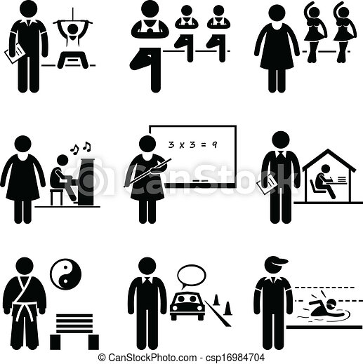 Coach Instructor Trainer Teacher - csp16984704