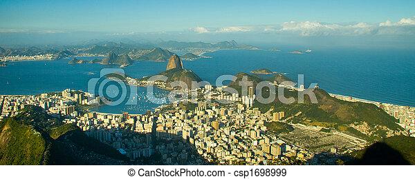 Sugar Loaf in Rio de Janeiro - csp1698999