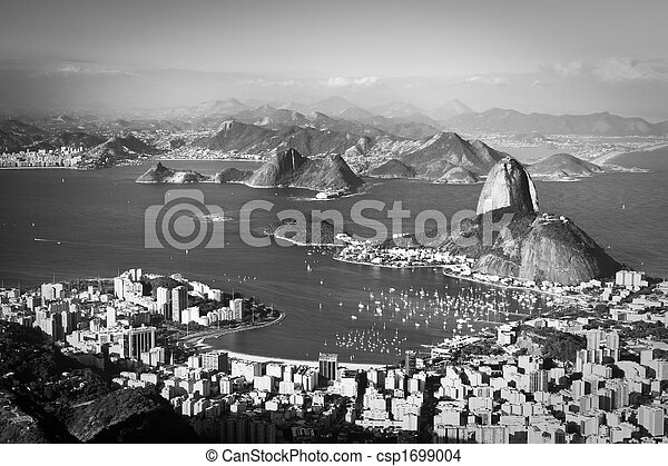 Sugar Loaf in Rio de Janeiro - csp1699004