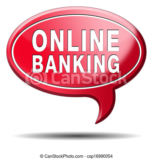 Stock Illustrations of online banking csp16990054 - Search ...