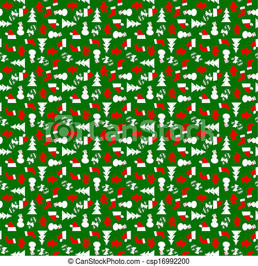 Christmas Wrapping Paper Background wrapping paper vector clipart eps ...