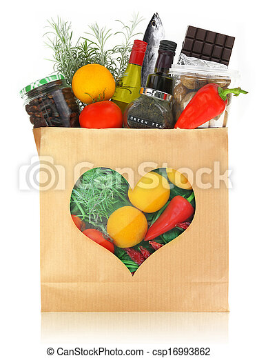The best foods for healthy heart - csp16993862