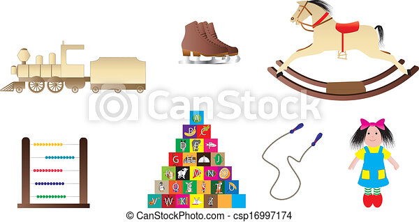 Traditional Toys - csp16997174