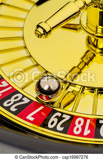 roulette gambling in the casino - csp16997276