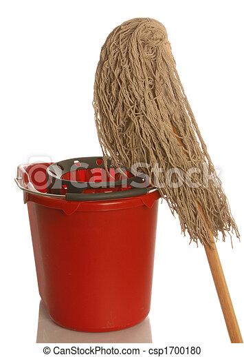 mop and bucket - csp1700180