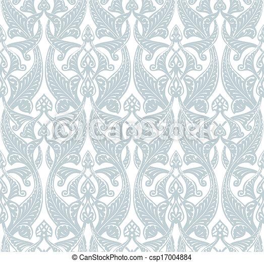 Art Nouveau Background - csp17004884