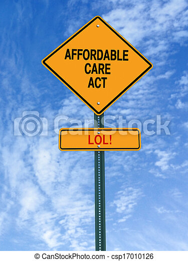 Stock Photo of affordable care act lol sign - conceptual ...