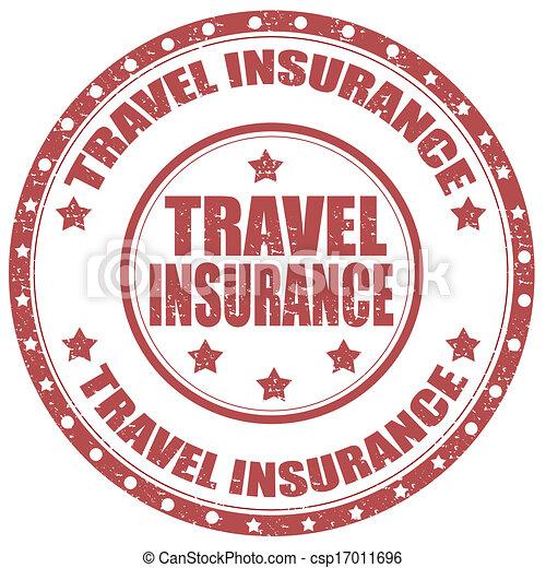 Travel Insurance-stamp - csp17011696