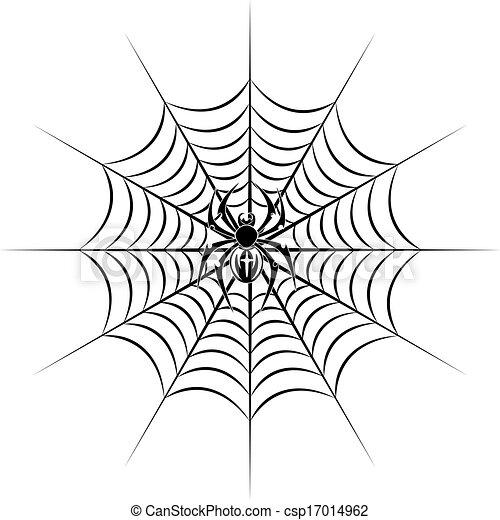 Рисунок паутина